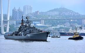 Обои эсминец, быстрый, проект 956