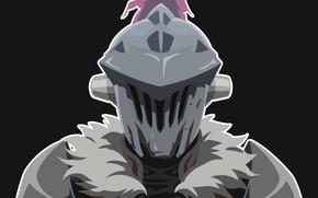 Картинка шлем, рыцарь, Goblin Slayer