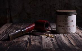 Картинка доски, спички, банка, табак, курительная трубка