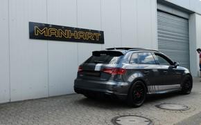 Картинка Audi, вид сзади, 500, RS3, Manhart, RS 3, 2019, Manhart 500