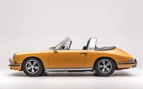 Картинка Porsche, Classic, Porsche 911, 1968, Classic car, Targa, Porsche 911 S 2.0 Targa Sportomatic