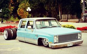 Картинка Chevrolet, Silverado, Custom car