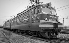 Обои Железная дорога, ВЛ11, Электровоз