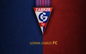 Картинка wallpaper, sport, logo, football, Gornik Zabrze