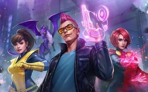 Картинка оружие, герои, персонажи, Marvel, Marvel: Future Fight