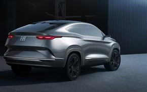 Картинка вид сзади, Fastback, 2018, кроссовер, Fiat, SUV