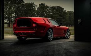 Картинка Ferrari, Hommage, Maranello, 2020, Ferrari Breadvan Hommage, Breadvan, Niels Van Roij Design