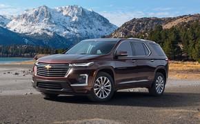 Картинка горы, Chevrolet, внедорожник, Traverse, 2021, Premier