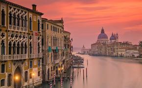 Картинка вид с Моста Академии, Италия, Венеция