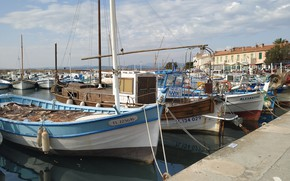 Картинка sea, boat, french riviera, pointu, brusc