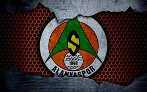 Картинка Alanyaspor, football, sport, wallpaper, logo