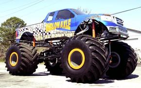 Картинка Vehicle, Off Road, Modified, Big Foot, Monster truck