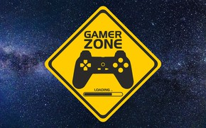 Картинка фон, Знак, Gamer