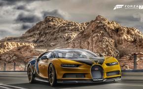 Картинка Bugatti, Microsoft, game, Chiron, Forza Motorsport 7