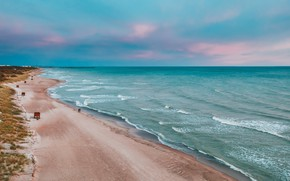 Картинка Lithuania, Baltic Sea, Klaipėda County, Giruliai