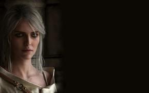Картинка The Witcher 3 Wild Hunt, Ведьмак 3 Дикая Охота, Цири, Cirilla Fiona Elen Riannon, Ciri, ...