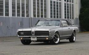 Картинка Cougar, 1967, Silver, Mercury, Muscle classic