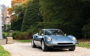 Картинка Classic, Retro, Sportcar, Ferrari Dino