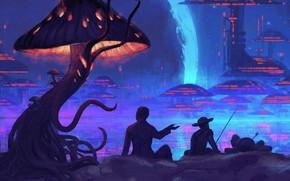 Картинка Music, Infected Mushroom, Cover, Monstercat, Head of NASA and the 2 Amish Boys