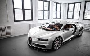 Картинка Bugatti, Windows, Silver, VAG, Sight, Chiron, 16/4