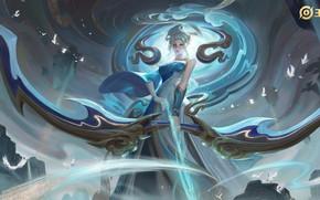 Картинка Девушка, Лучник, Woman Warrior, Arena of Valor