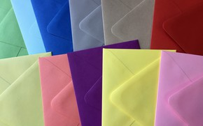 Картинка фон, цвет, конверты