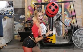Картинка девушка, girl, косплей, Харли Квинн, cosplay, Harley Quinn, Marsha May