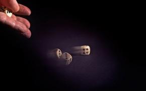 Картинка игра, рука, кости