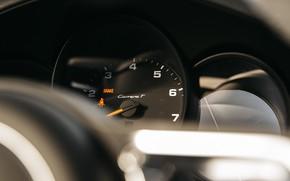 Картинка Porsche 911, Тахометр, Carrera T