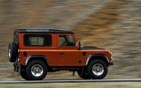 Картинка Land Rover, в движении, 2009, Defender, Limited Edition
