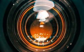 Картинка свет, абстракция, объектив, линза, симМетрия