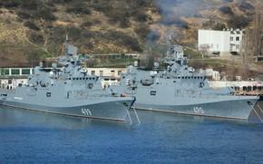 Картинка фрегаты, Адмирал Эссен, Адмирал Макаров
