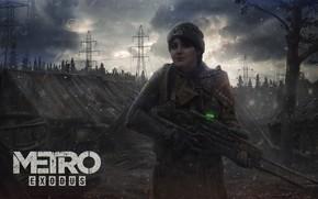 Картинка Анна, art, Metro, 4A Games, Exodus, Metro: Exodus