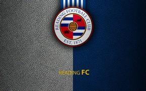 Картинка wallpaper, sport, logo, football, Reading, English Premier League