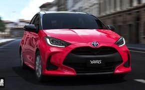 Картинка Hybrid, Hatchback, Yaris