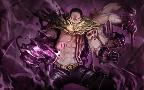 Картинка мужик, руки, парень, One Piece