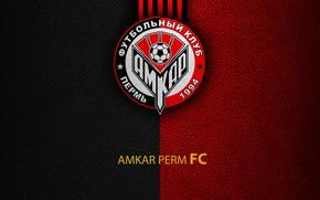 Картинка wallpaper, sport, logo, football, Russian Premier League, Amkar Perm