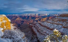 Картинка пейзаж, скалы, каньон, Аризона, США