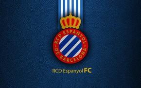 Картинка wallpaper, sport, logo, football, La Liga, RCD Espanyol