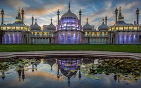 Картинка Pavilion, England, Prince, Wales, Architecture, Royal, Brighton, Residence