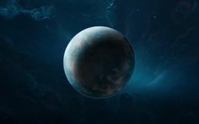 Картинка Звезды, Планета, Туманность, Stars, Space, Art, Planet, Science Fiction, by Brian Hagan, Brian Hagan, background …