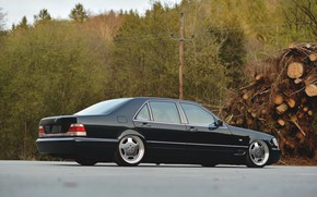 Картинка Mercedes - Benz, S-Klasse, W140, S500, LONG