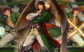 Картинка игра, ангел, фэнтези, мужчина, Fire Emblem