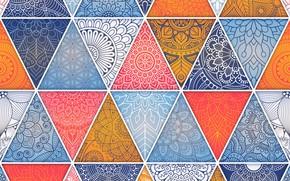 Картинка абстракция, узор, текстура, геометрия, орнамент