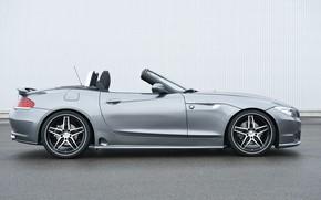Картинка серый, BMW, родстер, Hamann, 2010, вид сбоку, E89, BMW Z4, Z4