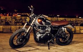 Картинка Bike, Triumph, Scrambler