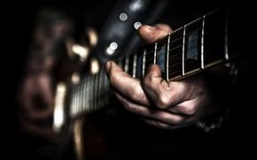 Картинка музыка, фон, гитара