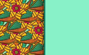 Картинка цветы, фон, текстура, design, background