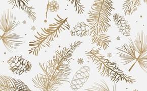 Картинка зима, фон, текстура, White, background