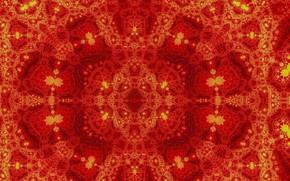 Картинка красный, узор, цвет